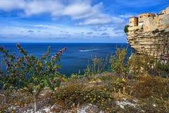Cliffs of Bonifacio Stock Image