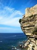 Cliffs at Bonifacio Royalty Free Stock Photo