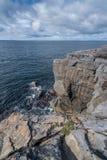 Cliffs of Burren Stock Photography