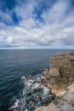 Cliffs of Burren Stock Photo