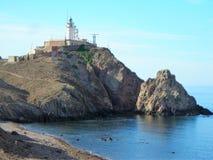 Cliffs-Cabo de Gata-Almeria-Andalusia στοκ φωτογραφία με δικαίωμα ελεύθερης χρήσης