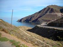 Cliffs-Cabo de Gata-Almeria-Andalusia. Spain-Europe Stock Photography