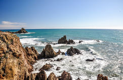 Cliffs at Cabo de Gata, Andalusia(Spain) Royalty Free Stock Image