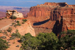 Cliffs at Canyonlands National Park Royalty Free Stock Images