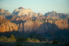 Cliffs and canyons, Zion National Park Stock Image