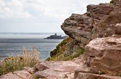 Cliffs at Cap Frehel Royalty Free Stock Image