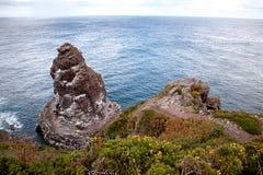 Cliffs at Cap Frehel Stock Photo