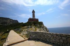 Cliffs of Capri, Capri island,  Italy Stock Photo