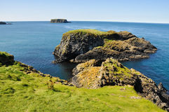 Cliffs of Carrick A Rede, Northern Ireland Royalty Free Stock Photo