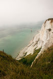 Cliffs chalk coast sea Beachy Head Royalty Free Stock Photography