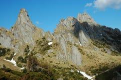 Cliffs in Ciucas mountains, Romania Stock Photography