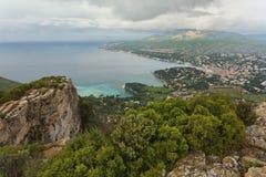 Cliffs and coast Stock Photo