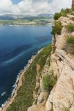 Cliffs and coast Stock Photography