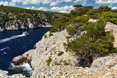 Cliffs and coast Stock Images