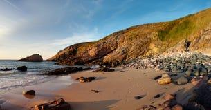 Cliffs and Coast at Cap Frehel Stock Photos