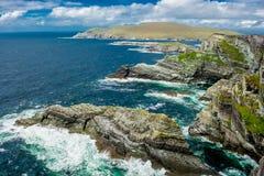 Cliffs at the Coast of Ireland Stock Image