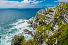 Cliffs at the Coast of Ireland Royalty Free Stock Image