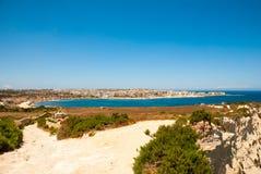 Cliffs, coast of Malta Royalty Free Stock Photography
