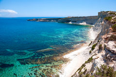 Cliffs, coast of Malta Stock Photos