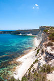 Cliffs, coast of Malta Royalty Free Stock Photo