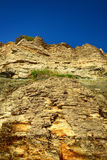 Cliffs at the coast in Paldiski Royalty Free Stock Photos