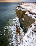 Cliffs. Coastal cliffs near Paldiski city in Estonia Royalty Free Stock Image