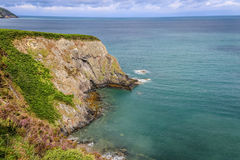 Cliffs and coastline. Taken in Newport, Pembrokeshire, Wales Royalty Free Stock Image