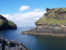 Cliffs cornwall Royalty Free Stock Images