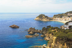 Cliffs of the Costa Brava Royalty Free Stock Image