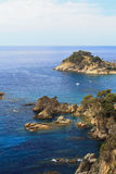 Cliffs of the Costa Brava Royalty Free Stock Photography