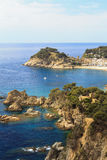 Cliffs of the Costa Brava Royalty Free Stock Photos