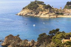 Cliffs of the Costa Brava Stock Photos