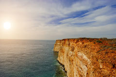 Cliffs on the Crimean Royalty Free Stock Photo