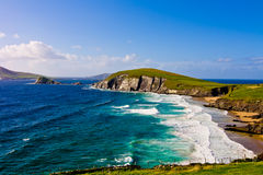 Cliffs on Dingle Peninsula Royalty Free Stock Photo