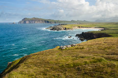 Cliffs on Dingle Peninsula Stock Photo