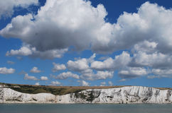 Cliffs of Dover stock image