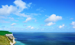 The cliffs of dover Royalty Free Stock Photos