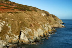 Cliffs in Dublin Ireland. Cliffs in Ireland. Near to Dublin Royalty Free Stock Photography