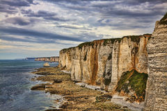 Cliffs of Etretat Royalty Free Stock Image