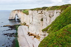 Cliffs of Etretat, Normandy Royalty Free Stock Photo