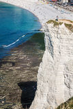 Cliffs of Etretat, Normandy, France Stock Photography