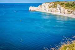 Cliffs of Etretat, Normandy, France Royalty Free Stock Photography