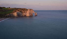 Cliffs of Etretat Stock Image