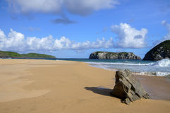 Cliffs on Fernando de Noronha, Pernambuco (Brazil) Stock Images