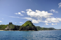 Cliffs on Fernando de Noronha, Pernambuco (Brazil) Royalty Free Stock Image