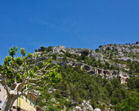 The Cliffs of Fontaine-de-Vaucluse Stock Image