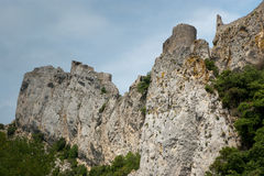 Cliffs in the Franch Pyrenees Stock Photos