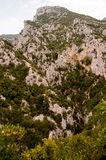 Cliffs in the Franch Pyrenees Stock Photography