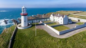 Galley head lighthouse. county Cork. Ireland. Cliffs. Galley head lighthouse. county Cork. Ireland stock image
