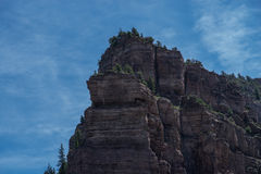 Cliffs. In Glenwood Canyon, Colorado Royalty Free Stock Image